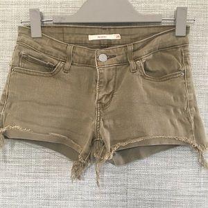 711 Skinny Levi's Shorts Size 26